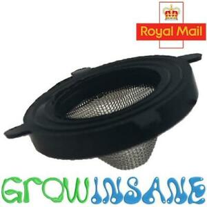 """Shower, Hose, Tap Rubber O Ring Gauze Washer with Filter Mesh 24mm OD (3/4"""" BSP)"""