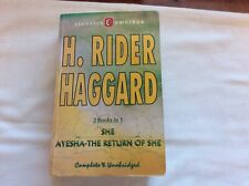 H.Rider Haggard Omnibus.She And Ayesha.wilco Publishing 2007.