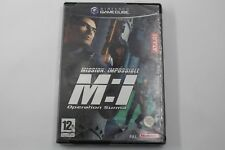 Pal version Nintendo GameCube Mission Impossible