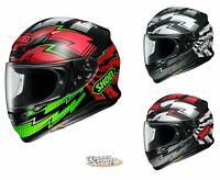 SHOEI RF-1200 VARIABLE Helmet -ALL SIZES- DOT/SNELL Street Full Face Patriotic