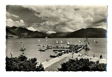 CPSM 74 Haute-Savoie Lac d'Annecy Régates et Fête de Natation à la Plage