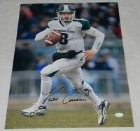 KIRK COUSINS AUTOGRAPHED SIGNED MSU MICHIGAN STATE SPARTANS 16x20 PHOTO JSA