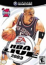 NBA Live 2003 (Nintendo GameCube, 2002)