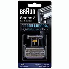 BRAUN 31S 5000/6000 Series 3 Flex XP Integral Shaver Foil + Cutter Replacement