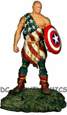 "MARVEL CAPTAIN AMERICA EARTH X STATUE ALEX ROSS Full Size 13"" Figurine Figure"