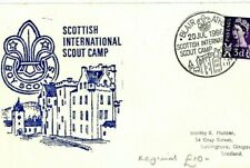 COVER GB SCOZIA * International CAMPO SCOUT UNO * 1966 {samwells} CZ35