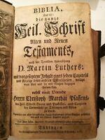 Biblia Tübingen 1776 Christopf Matthai Pfaffen
