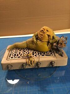 Vintage Kenner Star Wars Playset Jabba the Hutt 1983