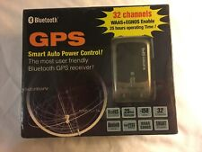 Bluetooth Branded GPS Receiver Model 737 32 Channels 25 Hour Battery Life New