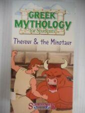 Schlessinger Media Greek Mythology For Students Vhs Theseus And The Minotaur