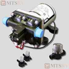 SHURFLO Revolution 4028 Quiet 12V Demand Fresh Water Pump w/255-313 Strainer NEW
