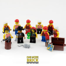 LEGO PIRATES! Minifigure collection - Pirate King/Queen & 8 Pirates (10 figures)