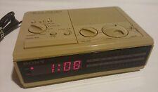 SONY ICF-C2W Digital Alarm Clock Radio
