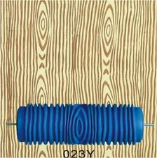 5in. Wood Grain Patterned Wall Decoration Empaistic Paint Roller DIY 3D Rubber