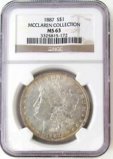 1887 Morgan Dollar - MS-63 NGC
