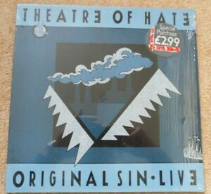 Theatre of Hate Original Sin Live LP