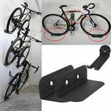 Portabici Porta Bicicletta a Parete Supporto Bici Da Muro Staffa Acciaio 100KG