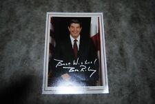 (M2) photo dédicace autographe autograph bob riley alabama governor