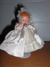 Nancy Ann Storybook Doll ~ #234 Dress Up Coat & Bonnet w/Lace Trim c 1938