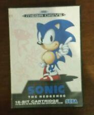 Sonic Megadrive jeux genesis sega retro gaming en boite mega drive hedgehog