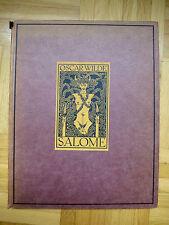 1919 SALOME Oscar Wilde Tragödie in 1 Akt 16 Zeichnungen Aubrey Beardsley Erotik