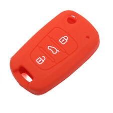 Red Silicone Key Cover Bag For KIA 2012 RIO K2 K5 Sportage R forte CERATO