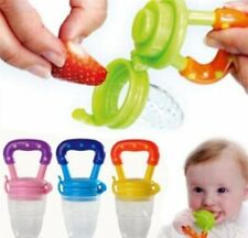 Baby Dummy Pacifier Fresh Fruit Food Feeder Feeding Nibbles Weaning Teething