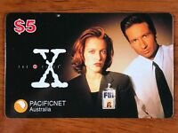 PACIFICNET AUSTRALIA $5 X FILES PROMO PHONECARD!