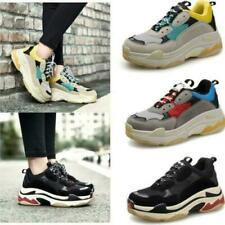 Men & Women's Athletic Trainers Running Triples Platform Shoes Sports Sneakers