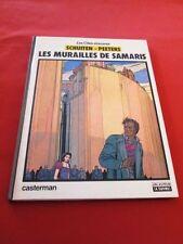 SCHUITEN - PEETERS. Les cités obscures.  Les murailles de Samaris. E. O. 1983