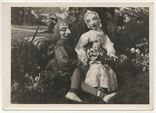 VINTAGE MARIONETTE Photograph PHOTO Dolls HOWARD DAVIS Rye New York NY Puppet