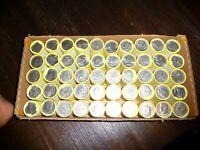 KENNEDY HALF DOLLAR BOX 50 ROLLS UNSEARCHED