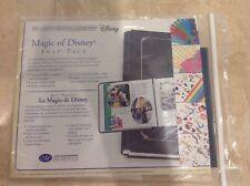 CREATIVE MEMORIES MAGIC OF DISNEY  SNAP PACK 7 X 7 KIT NIP