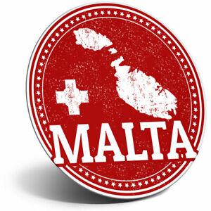 Awesome Fridge Magnet - Malta Maltese Flag Map Travel Cool Gift #4285