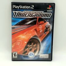 Need For Speed Underground (PlayStation 2 PS2, 2003) CASE ONLY