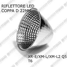 Riflettore LED LEDIL da 22mm per fascio di luce fari faretti a LED da 1W-3W