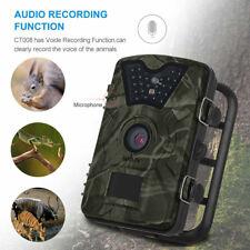 1080P HD 12MP Trail Hunting Scouting Wildlife Camera IR LED Night Vision IP66 UK