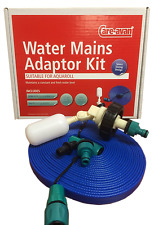 Care-avan Mains Water Super Pitch Kit for Aquaroll 10 mtr 32 feet FLAT Hose