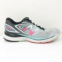 New Balance Womens 880 V7 W880GB7 Gray Black Running Shoes Lace Up Size 8 D