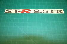 Nissan Navara Frontier Pathfinder 2.5 CR ST-R  decal sticker graphic restoration