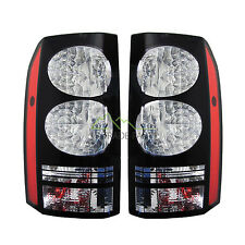 LAND ROVER DISCOVERY 3 & 4 NEW REAR BLACK LED TAIL LIGHTS (PAIR) GENUINE QUALITY
