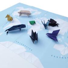 Origami World Map Craft Kit