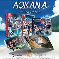 Aokana - Four Rhythms Across the Blue - Nintendo Switch Limited Edition Pqube
