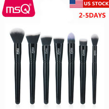 US Soft 7Pcs Powder Makeup Brushes Set Foundation Contour Highlight Brush Tools