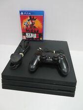 SONY PLAYSTATION 4 PRO (PS4) 1TB Negro Juegos Consola Con Juego (RD43)