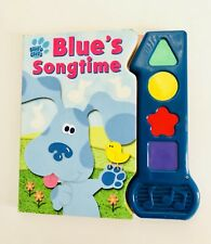 Blues Clues Play A Song Sounds Talking Book  Steve Singing Book Vintage