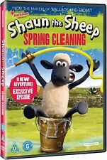 Shaun The Sheep: Spring Cleaning [DVD]  * New & Sealed *