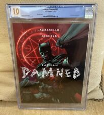Batman: Damned 1 CGC 10.0 - GEM MINT: WHITE PAGES - Absolute Highest Grade !!!