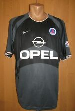 f847fe419361 PSG PARIS SAINT-GERMAIN 2001/2002 THIRD SHIRT JERSEY MAILLOT OPEL FRANCE  NIKE L