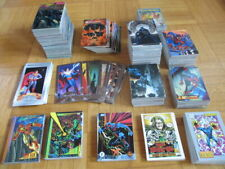 900 Sammelkarten Marvel Universe Spiderman Batman Superman Ultra Fleer Metal DC